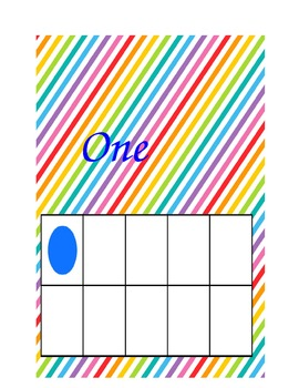 Rainbow Ten Frames 1-5
