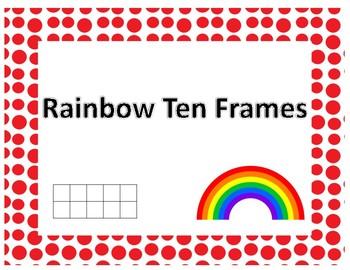 Rainbow Ten Frames