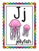 Rainbow Theme Alphabet Chart