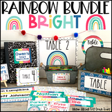 Rainbow Theme Classroom Decor Bundle