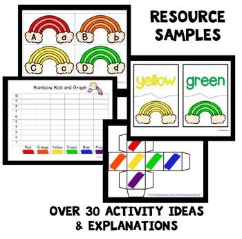 Rainbow Theme Home Preschool Lesson Plans