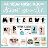 Rainbow Theme | Music Room Decor