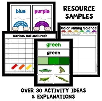 Rainbow Theme Preschool Lesson Plans