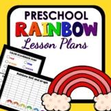 Rainbow Theme Preschool Classroom Lesson Plans