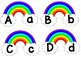 Rainbow Theme Word Wall