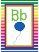 Rainbow Themed Alphabet