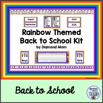 Rainbow Themed Back to School Kit