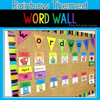 Rainbow Themed Classroom Decor BUNDLE