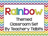 Rainbow Themed Classroom Set