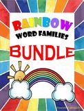 Rainbow-Themed Word Family Bundle
