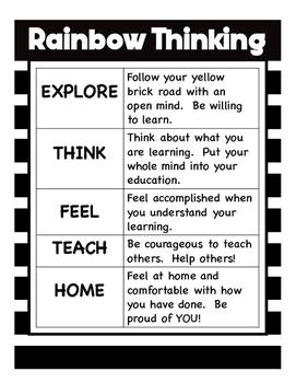Rainbow Thinking