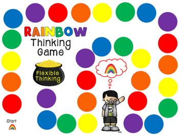 Rainbow Thinking: FLEXIBLE THINKING GAME for Rigid Black or White Thinkers