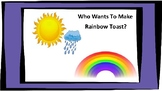 Rainbow Toast Language Rich Activity