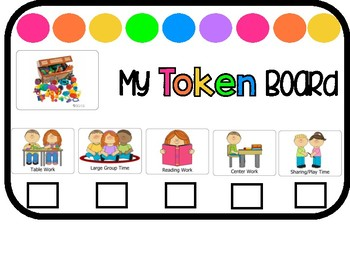 Rainbow Token Boards