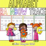 Rainbow Tracing the Alphabet
