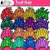Rainbow Troll Clipart: Glitter Gnome Graphics {Glitter Meets Glue}
