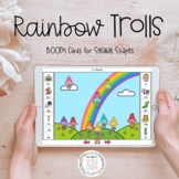Rainbow Trolls: Digital Task Cards with BOOM for Syllable Shapes
