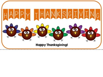 Rainbow Turkeys-Adapted Interactive Fall Color Book {Autism, Early Childhood}