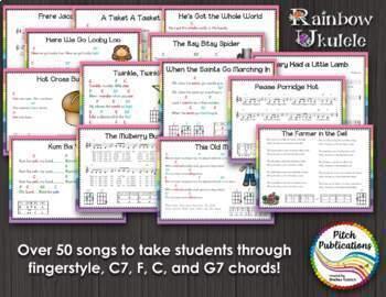 Ukulele Program - Rainbow Ukulele {BUNDLE} - Lessons, Presentation, Student Book