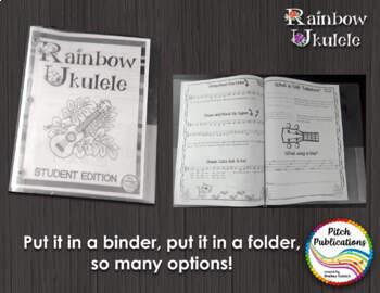 Rainbow Ukulele - Student Packet - Ukulele Student Method Book