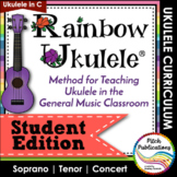 Rainbow Ukulele - Student Packet - Ukulele Student Method Book