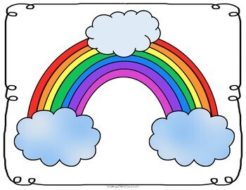 Rainbow Unicorn Decomposing Addition Activity