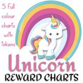 Rainbow Unicorn Reward Charts - Positive Reinforcement Strategy