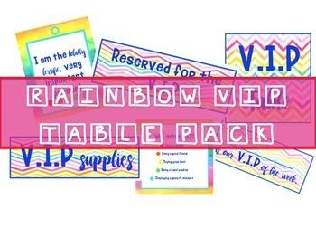 VIP Pack Rainbow Theme
