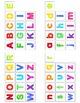 Rainbow Watercolor Alphabet Matching Folder Game