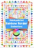 Rainbow Watercolour Border Collection