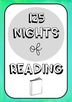Rainbow Watercolour Nights of Reading Posters {2 versions!}