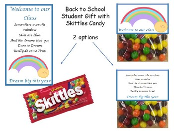 Back to School Student Rainbow Gift