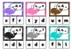 Rainbow Whales: Alphabet Sequencing Clip Cards (lower case)