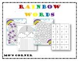Rainbow Word Bundle