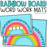 Rainbow Word Work Mats