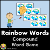 Compound Word Game - Rainbow Words