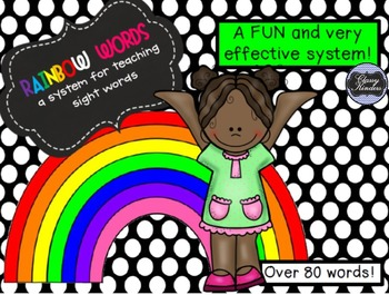 Rainbow Words - A Fun System for Teaching and Assessing Si