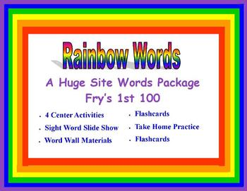 Rainbow Words - A High Frequency Word Package