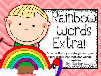 Rainbow Words Extra! by Kinder League