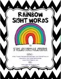 Rainbow Words Kinder Style