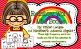 Benchmark Advance Kindergarten Rainbow Sight Word Mini Books