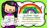 Rainbow Words (Sight Word) Mini-Books by Kinder League