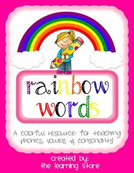 Consonant, Vowel, Phonics, and Dolch/Sight Word Practice