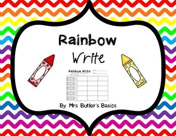 Rainbow Write
