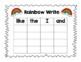 Rainbow Write: Journeys Sight Words Units 1-3