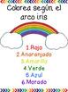 Spanish Sight Words Center: Rainbow Write (Palabras frecuentes)