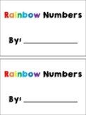 Rainbow Write Your Numbers Book