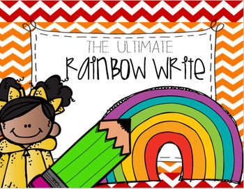 Rainbow Write for Kindergarten and First Grade