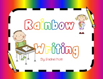 Rainbow Writing ABC's !!
