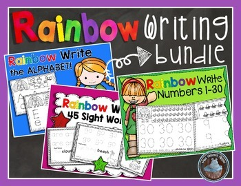 Rainbow Writing Bundle!